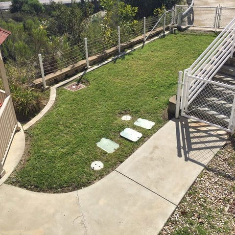 Naval Medical Center San Diego Grass Renovation Before