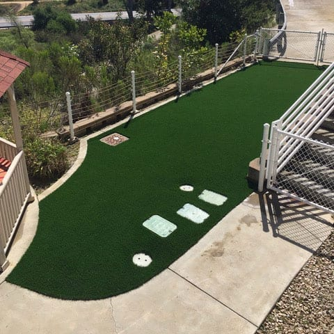 Naval Medical Center San Diego AstroTurf Project After