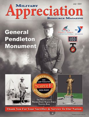 FHSC Camp Pendleton in the news - a young marine's personal story in Military Appreciation Magazine