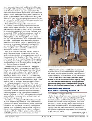 Fisher House Southern California Camp Pendleton in the news - featured by Military Appreciation Magazine